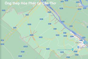 ống thép Hòa Phát tại Cần Thơ